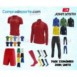 Pack Ecónomico John Smith