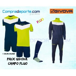 Pack Givova Campo Fluo