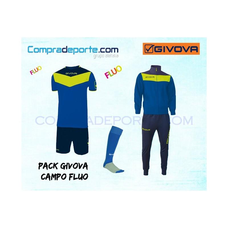 Givova kit Campo Fluo